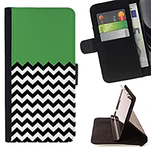 - Chevron Pattern V shapes - - Premium PU Leather Wallet Case with Card Slots, Cash Compartment and Detachable Wrist Strap FOR Sony Xperia m55w Z3 Compact Mini King case
