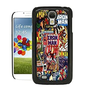 COVER FOR SAMSUNG GALXY S4 i9500 MARVEL IRON MAN COMIC by ruishername