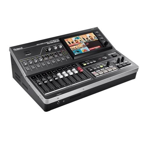 Roland VR-50HD All-in-One HD Multi-Format AV Mixer with USB 3.0 for Web Streaming & Recording by R O L A N D