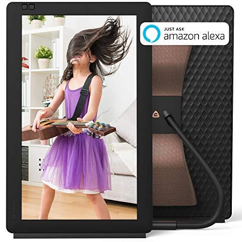 "Nixplay Seed Wave 13.3"" Smart Speaker & Photo Frame with Blu"