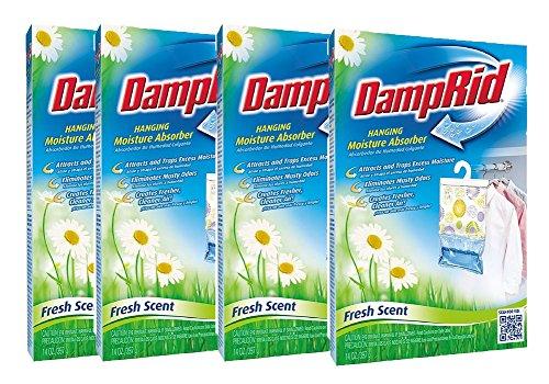 DampRid Hanging Moisture Absorber, Fresh Scent, 14 oz