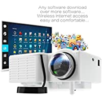 MIGVELA LCD Projector Low Power PRO Mini VGA/USB/SD/AV/HDMI Portable Mini Digitale LED Entertainment for Home Cinema Theater
