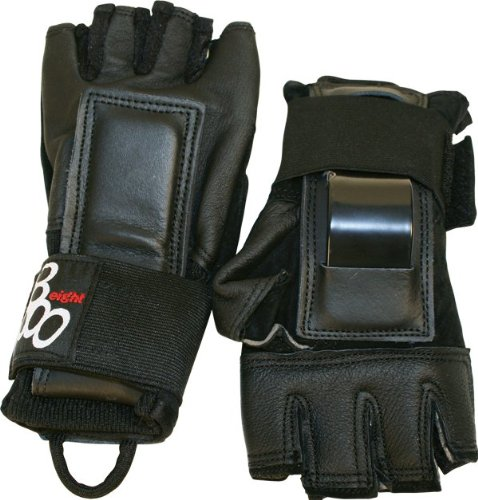 Triple 8 Hired Hands Gloves Xl-Black by Triple Eight
