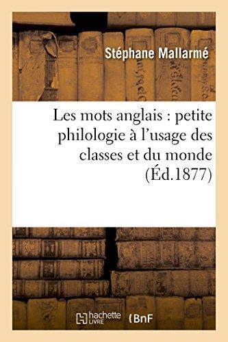 Les Mots Anglais Petite Philologie À l