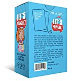 Let's Mingle Kids Card Game | Conversation Starters | Cognitive Behavioral Therapy CBT | Mindfulness Activities | Social Emotional Learning | Critical Thinking | Counseling Questions | Growth Mindset