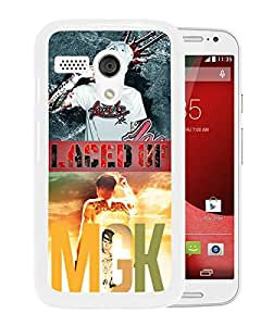 AZE Beautiful Fashion mgk lace up White Case Cover For Moto G