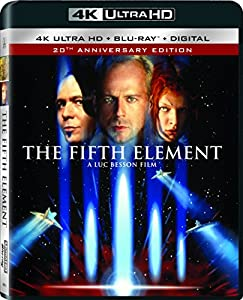 Cover Image for 'The Fifth Element [4K Ultra HD + Blu-ray + Digital]'