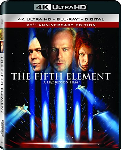 4K Blu-ray : The Fifth Element (With Blu-Ray, 4K Mastering, Ultraviolet Digital Copy, 2 Pack, )