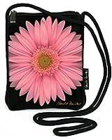 Harold Feinstein Pink Daisy Slim Shoulder Bag