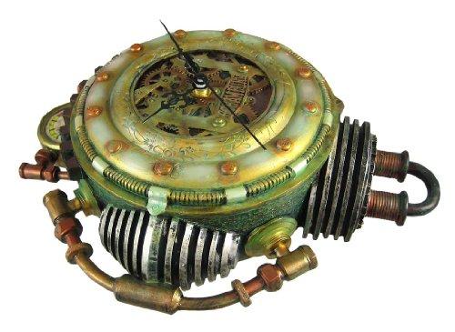 Cool 3-D Steampunk Wall Clock Steam Punk Sci-Fi 4