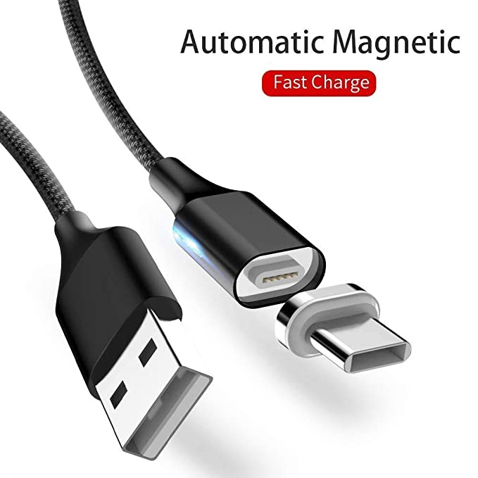 Amazon.com: Ankey - Cable magnético USB C (USB 3.0 ...
