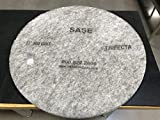 27 Inch 2 Pack Sase Trifecta Super Gloss High Speed Polishing Pads 800 Grit