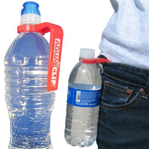 Amazon.com : Aqua Clip Water Bottle Holder (4 PACK) - Water Bottle ...