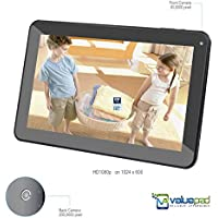 ValuePad® VP112-11 10.1' Tablet with HDMI Quad Core Android 4.4.2 KitKat Kids and Adult Hybrid Tablet BT 4.0 1080P via HDMI 1GB 16GB Dual Camer 10 Points MultiTouch Dual Speaker 3D Game