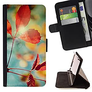 Jordan Colourful Shop - Plant Nature Forrest Flower 1 For Samsung Galaxy A3 - Leather Case Absorci???¡¯???€????€?????????&