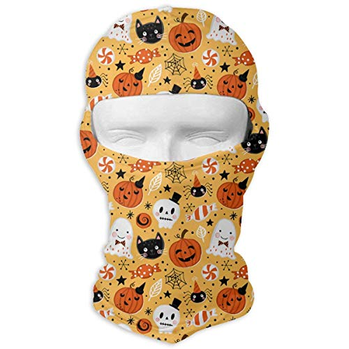 Cookisn balaclavas Neck Hood Full Face Mask Hat Sunscreen Windproof Breathable Quick Drying Halloween Drawing Elements Men Women