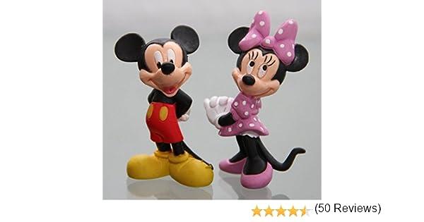 Bullyland - MICKY & MINNIE MAUS- Figura : MICKY MAUS (MICKEY MOUSE ...