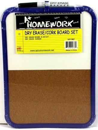 9'' x 12'' Dry Erase / Cork Board Combination 48 pcs sku# 1174718MA by DDI