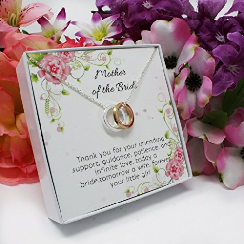 OnePurpose Mother of the Bride/Groom Gifts (Gold/Silver Bride) by OnePurposeGifts (Image #1)