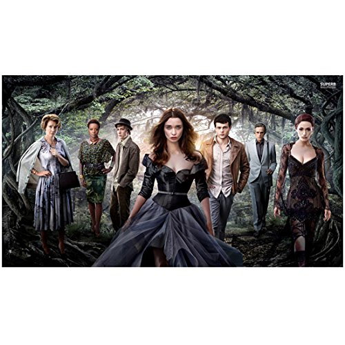Beautiful Creatures cast forest promo 8 x 10 Inch Photo