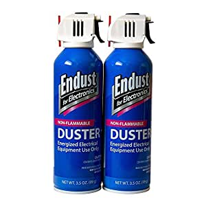 3.5 ounce Endust Aerosol Duster, 2-Pack (END246050)
