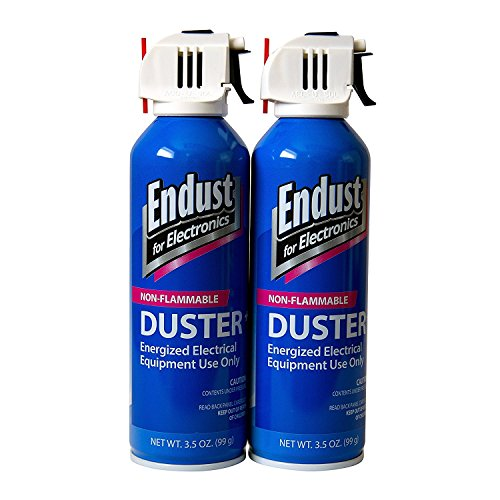 Endust Streak Free Duster 2-Pack, 3.5 Oz Non-Flammable with Bitterant