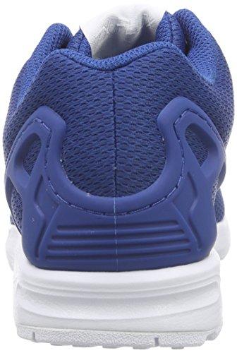 Adidas Zx Flux - Af6344 Blanco-azul Marino