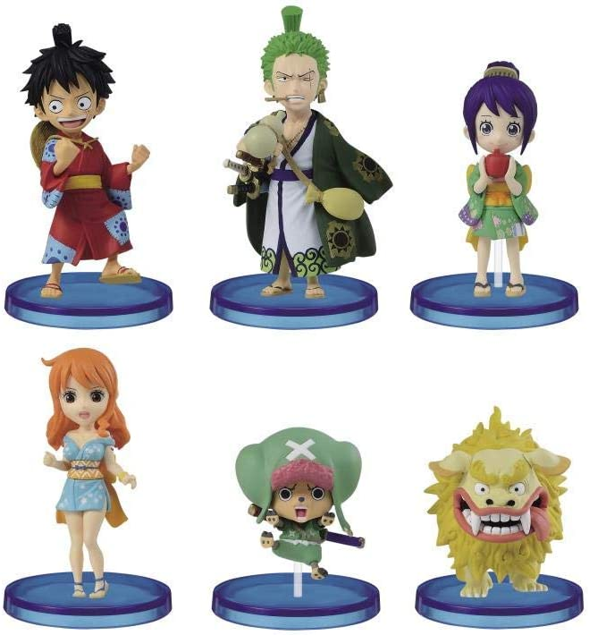 DRESSROSA 4 Full Set ONE PIECE WCF World Collectable Figure