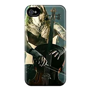 RitaSokul Iphone 4/4s Comfortable Phone Hard Covers Provide Private Custom HD Apocalyptica Band Pictures [FUV7402AvrN]