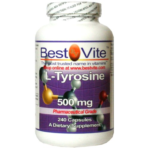 L-Tyrosine 500mg (240 Comprimés)