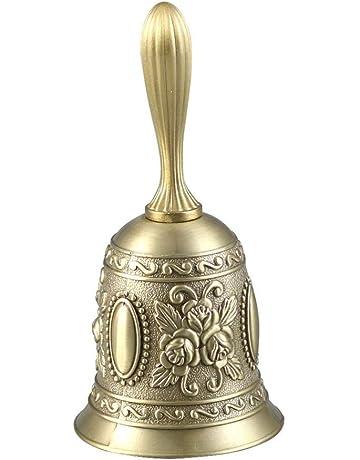 Earlyad Bell Estilo Tradicional Puerta de propósito múltiple Llamada a Mano Adornos artesanales Extra Fuerte para