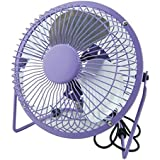 6 inch Mini USB fan Fan Cool Small Fan Ftudent Desktop Small Fan Plug(PURPLE)