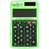 Victor 700BTS Pocket Calculator in Bright Colors, Fits in backpacks, purses, or brief cases, Color Selection not availableVictor Technology Large Display 8 digit Calculator (700BTS)