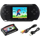 """SZZHCKJ 2.7 """"LCD Pocket PC Console PXP 3 16bit Retro Giocattoli Giocattoli per Bambini Kids Kids Regali Migliori 100+ Giochi"""