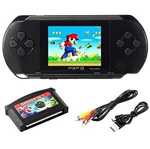 Amazon Es Szzhckj 2 7 Lcd Portatil Consola De Juegos Pxp 3 16bit