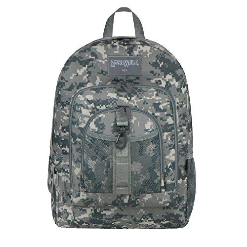 East West U.S.A BC104 Military Sports Backpack, Grey ACU Digital (Military Acu Digital Camo)