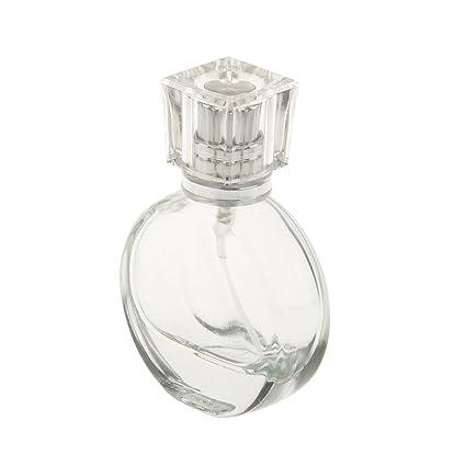 Sharplace Nuevo Botella Perfume de Vidrio de Alto Grado Atomizador Aerosol Retornables Accesorio Decorativo - único