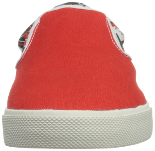 Bucketfeet Mens Blåsig Stad Duk Slip-on 11