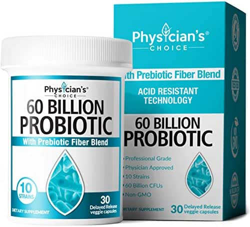 Probiotics: Physician's Choice Probiotics 60 Billion CFU
