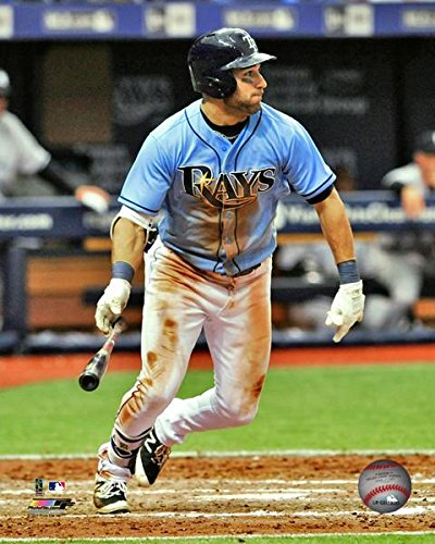 (Kevin Kiermaier Tampa Bay Rays Action Photo (Size: 16