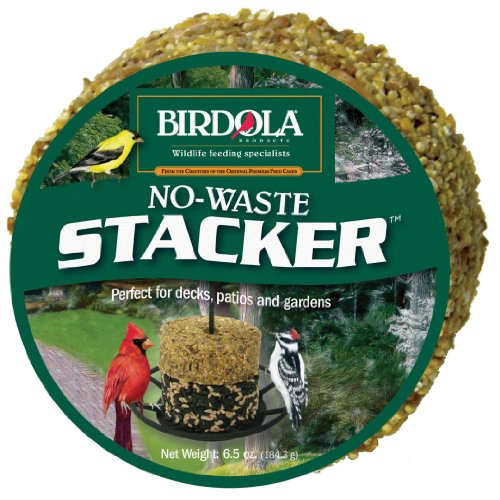 Birdola No-Waste Stacker, 6.5-Ounce, 1.75 x 3.75 x 3.75 inches