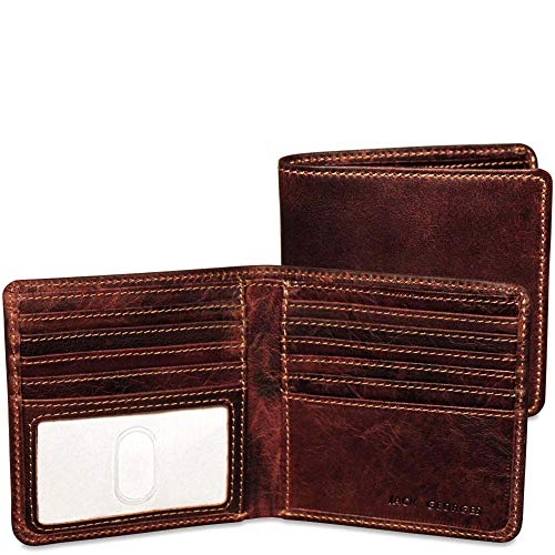 - Jack Georges Voyager Hipster Wallet, Brown