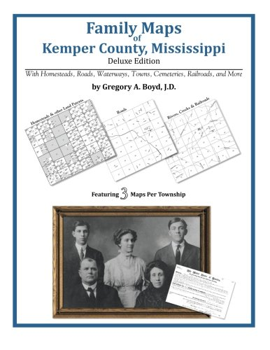 Family Maps of Kemper County, Mississippi