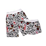 Set Of Two Comfortable Casual Couple Beach Pants/Athletics Shorts