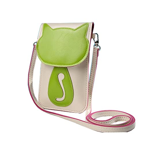 ca5d50051761 ZOONAI Mini Crossbody Shoulder Bag Cute Cellphone Change Pouch Wallet  (Beige)