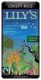 Lily's Dark Chocolate with Stevia Crispy Rice -- 3 oz - 2 pc