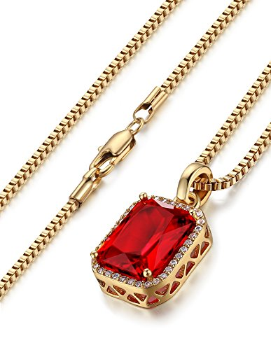 FIBO STEEL Pendant Necklace Women