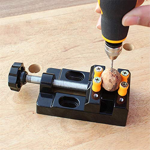 Universal Mini Bench Vise Clamp Aluminum Alloy Walnut Nut Clip Jewelry Pincers Table Pliers Carving Fixed Tools by Other, Cooking Utensils        Amazon imported products in Multan