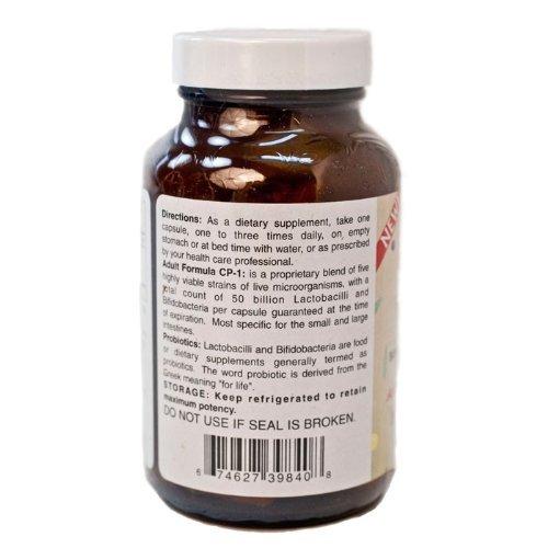 6 Bottles of Custom Probiotics CP-1 - 90 Capsules