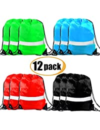 Drawstring Backpack - Drawstring Bags Reflective Cinch Sacks String Backpack  Bulk Bag 30102a36df803